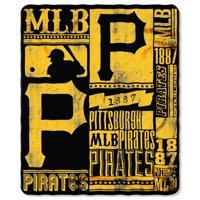 "Pittsburgh Pirates The Northwest Company 50"" x 60"" Strength Fleece Blanket"