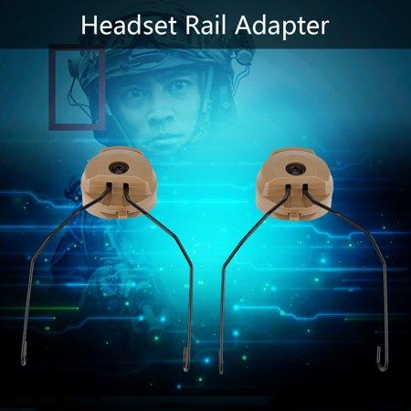 LHCER 1Pair Tactics for Sordin Type Headset Holder for Fast Helmet Rail Adapter Set , Headset Holder for Helmet, Helmet Rail Adapter - image 7 of 7