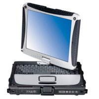 Panasonic B Grade CF-18 Toughbook 10.1-inch (XGA sunlight-viewable LED 1024 x 768) 1.06GHz Core Duo 60 GB HD 1.25 GB Memory, Windows XP Pro OS Power Adapter Included -Refurbished