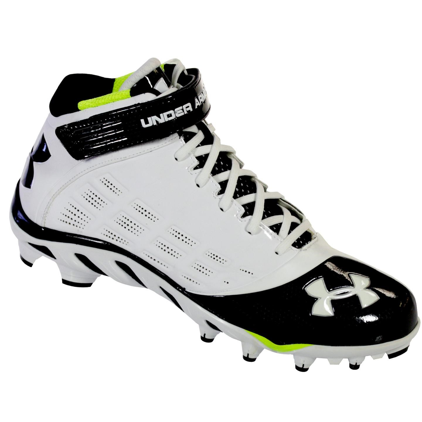 Under Armour SPINE FIERCE MID MC Men Football Shoe WHBKNEOGN 11M