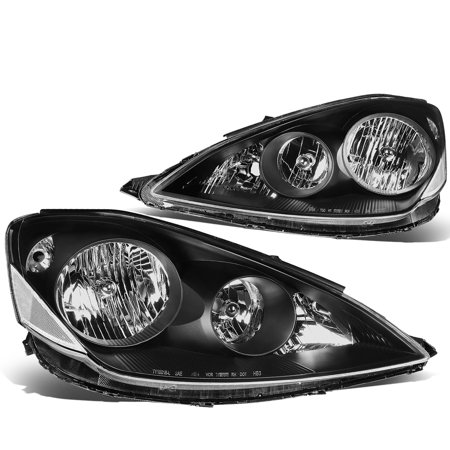 For 2006 to 2010 toyota Sienna Headlight Black Housing Clear Corner Headlamp 07 08 09 XL20 2nd Gen -