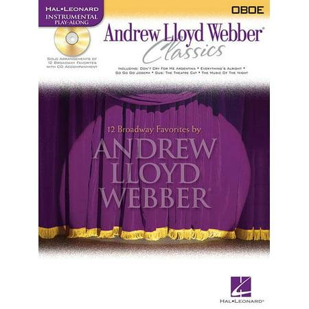 Hal Leonard Instrumental Play-Along: Andrew Lloyd Webber Classics: Oboe (Other) Andrew Lloyd Webber Import
