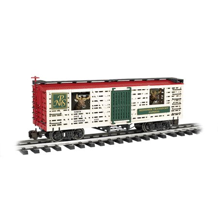 Southern Stock Car (Bachmann 98704 G Scale North Pole & Southern with Reindeer Annimated Stock Car )