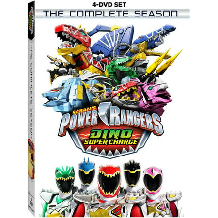 Power Rangers Dino Super Charge: The Complete Season (DVD)](Power Rangers Facts)