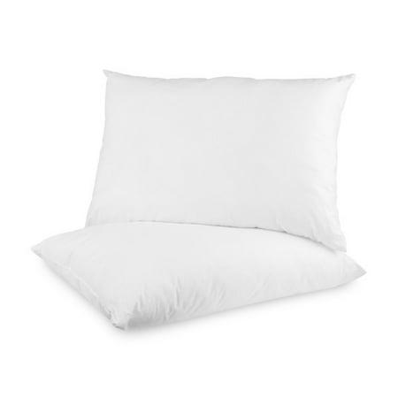 BioPEDIC UltraFresh Medium Firm Jumbo Bed Pillows, 2-Pack