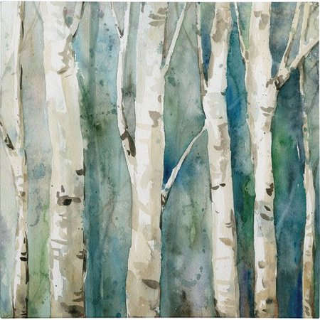 - Charlton Home 'River Birch II' Painting Print on Wrapped Canvas