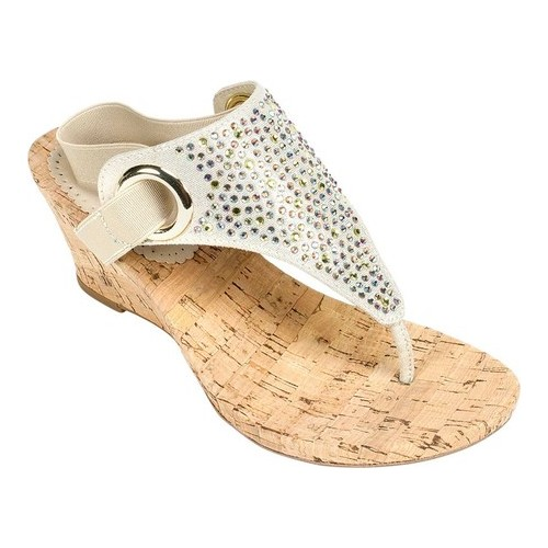 Women's White Mountain Aldon Cork Sandal