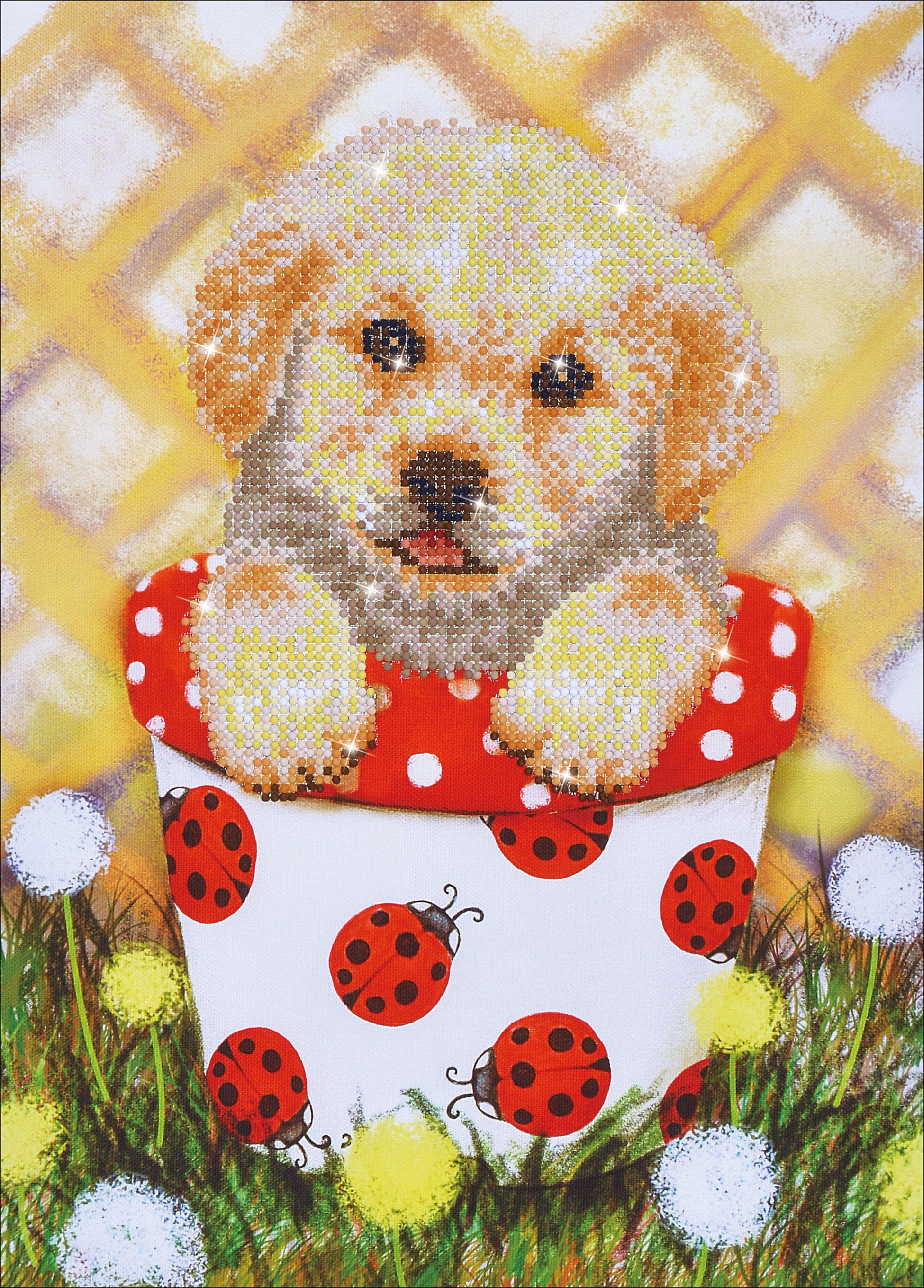 Diamond Dotz Embroidery Facet Art Kit Beginner Christmas Pup /& Mouse