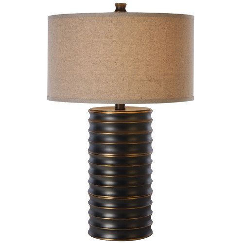 Trend Lighting Corp. Wave 28.5'' H Table Lamp with Drum Shade