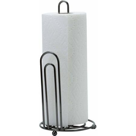 Kitchen Details Paper Towel Holder, Onyx