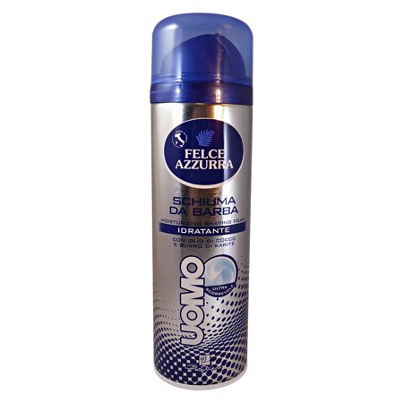 Felce Azzurra Moisturizing Hydrating Shaving Foam 300ml 10.1oz (Moisturizing Shave Foam)