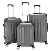 """Clearance! Carry-on Luggage, 20"""" 24"""" 28"""" Hardside Luggage with TSA Approved Lock, Maneuverable 360-degree Rotation Travel Suitcase for Cruise, Air Travel, Business Trip, Holiday, Vacationing, Q1103"""