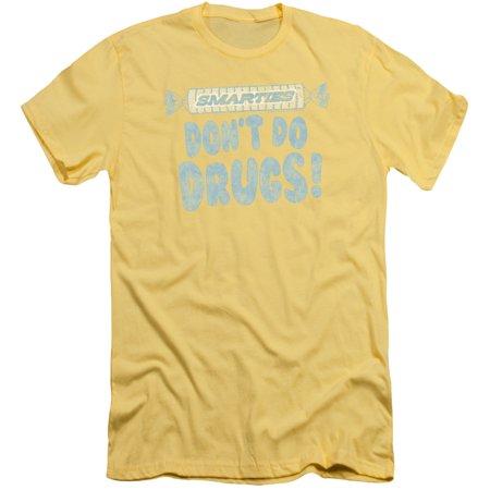 Smarties Be Smart Mens Slim Fit Shirt