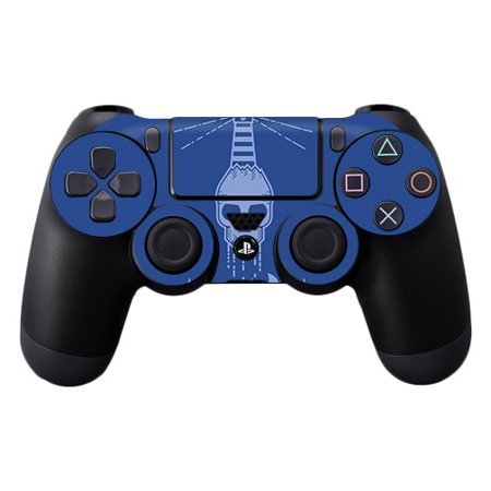 MightySkins Skin Compatible With Sony PS4 Controller - Astronaut   Protective, Durable, and Unique Vinyl Decal wrap cover   Easy To Apply, Remove, and Change Styles   Made in the