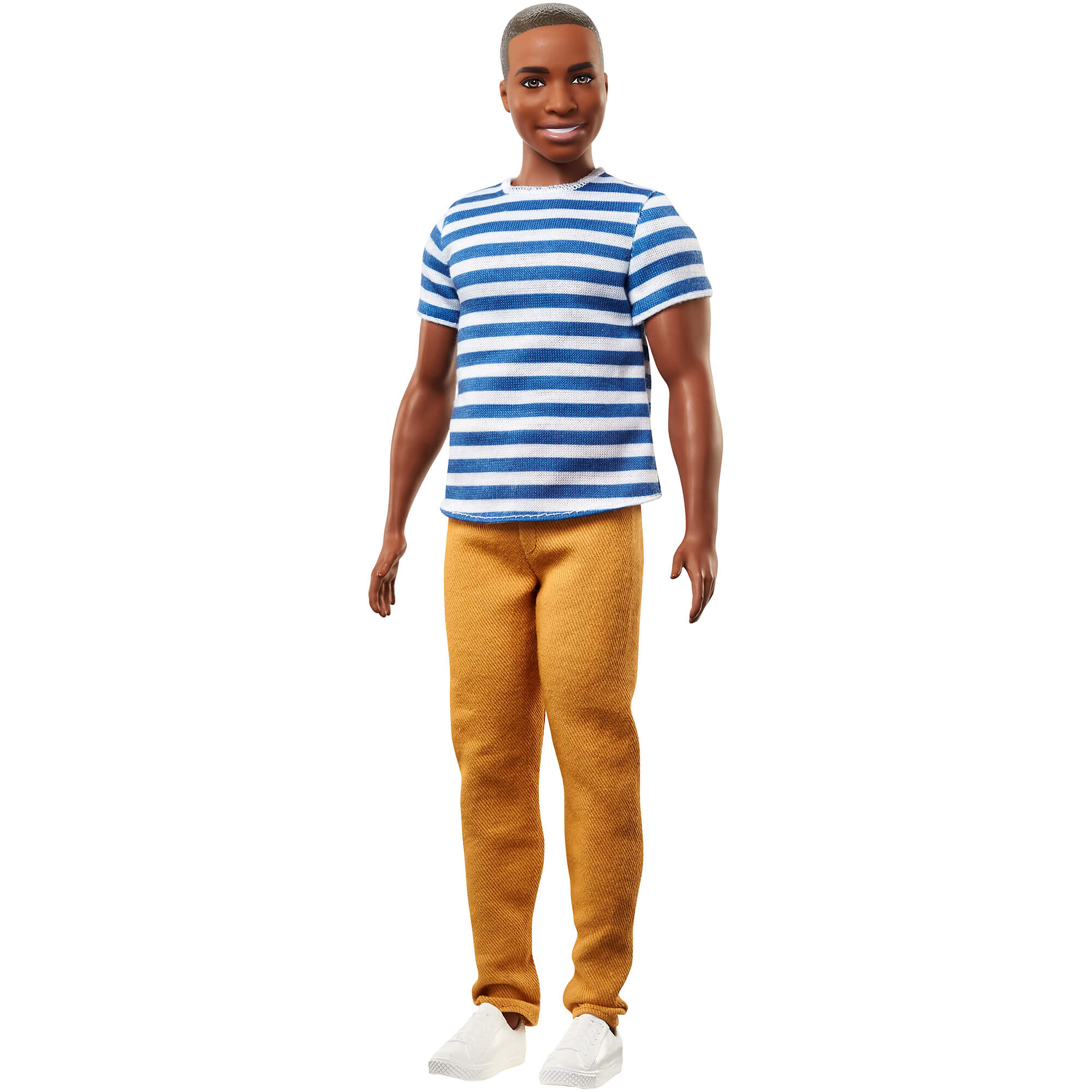 Ken Fashionistas Doll 5 Super Stripes Broad by Mattel