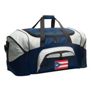 Broad Bay Puerto Rican Flag Duffle Bags or Puerto Rico Luggage