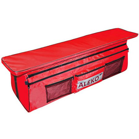 Pleasing Aleko Bsb420Rv2 41X9 Inch Seat Cushion With Spacious Under Seat Bag With Pockets For Inflatable Boats Red Unemploymentrelief Wooden Chair Designs For Living Room Unemploymentrelieforg