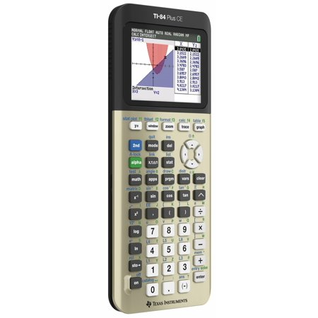 Texas Instruments Ti-84 Plus Ce Graphing Calculator - Impact Resistant Cover - 3 Texas Instruments Ti-84 Plus Ce Graphing Calculator - Impact Resistant Cover - 3 condition: New Brand: Texas InstrumentsMPN: 84plce-tbl-1l1-vModel: TI-84Power Source: BatterySize: HandheldFeatures: [    Calculus ,    USB ,    LCD Display ,    Programmable ,    Backlight  ]Key Size: RegularType: [    Graphing ,    Scientific ,    Financial  ]Display Size: Regular