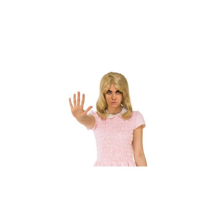 Halloween Stranger Things Eleven's Blonde Wig](Blonde Halloween Ideas)