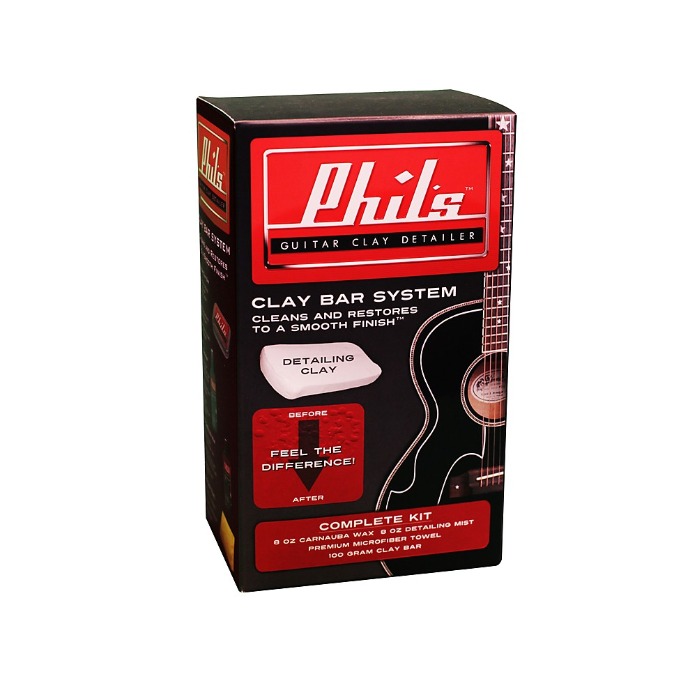 Phil's Guitar Clay Detailer Kit