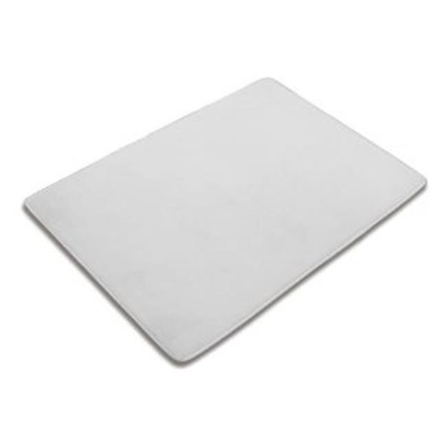 Thomaston Mills TM-910367-12 Bath Mat - 20 x 30 In., White, Case Of 12