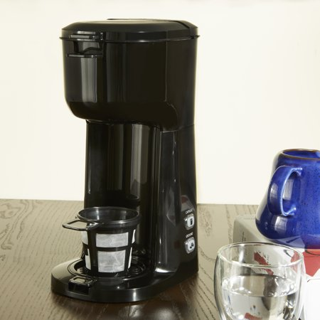 Mainstays Single Serve and K-Cup Black Coffee Maker