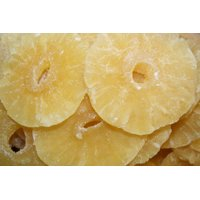 BAYSIDE CANDY DRIED PINEAPPLE RINGS, 1LB