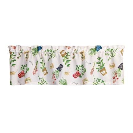 Potted Herbs Valance By Oakridgetm Kitchen Gallery