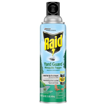 Raid Yard Guard Mosquito Fogger 16 oz