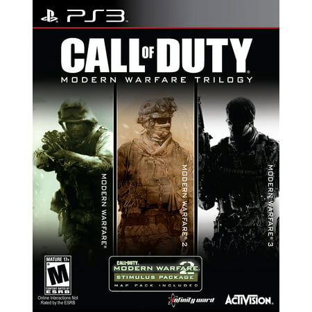 Call of Duty: Modern Warfare Trilogy [3 Discs], Activision, PlayStation 3, 047875878075