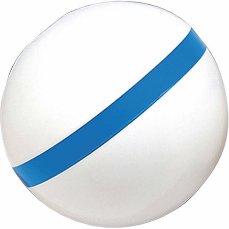 Taylor Sur-Moor T3C Mooring Buoy, White with Blue Reflective Striping