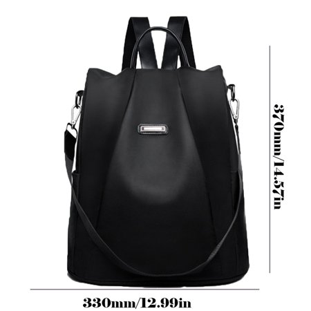 Fashion Oxford Cloth Anti-Theft Backpack Fashion Wild Ladies Shoulders - image 8 of 9