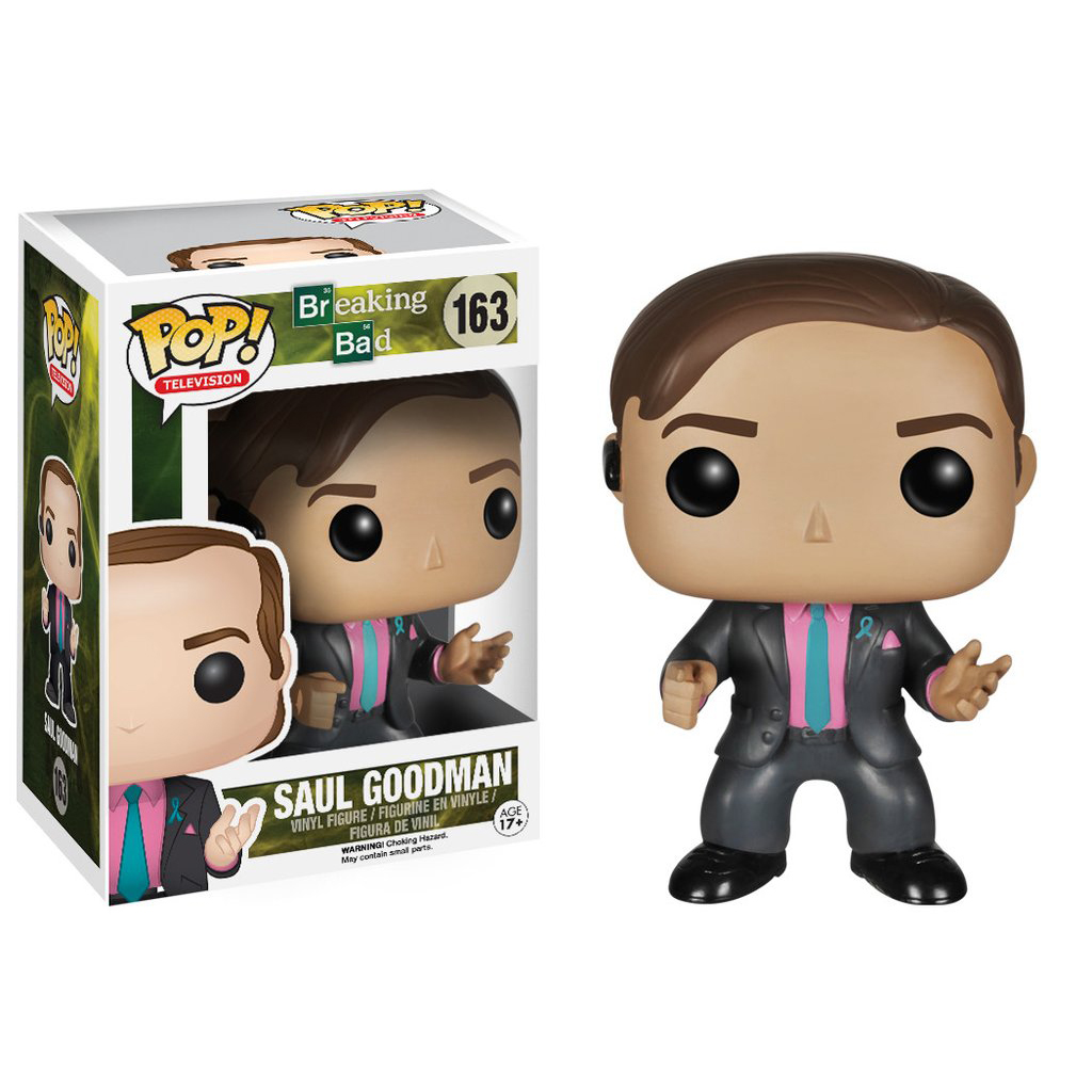 Funko POP Television (VINYL): Breaking Bad Saul Goodman Action Figure