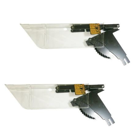 DeWalt 2 Pack of Genuine OEM Replacement Blade Guard Assemblies 514003
