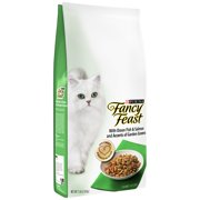 Purina Fancy Feast Gourmet Dry Cat Food With Ocean Fish & Salmon and Accents of Garden Greens 7 lb. Bag