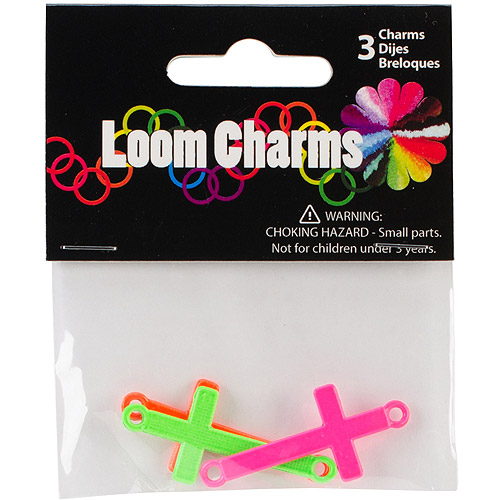 Loom Band Charms, 3pk
