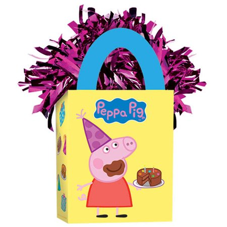 Peppa Pig  Balloon Weight - Party Supplies (Peppa Pig Birthday Party Game)