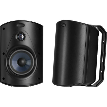 Polk Atrium6 All Weather Outdoor Loudspeaker (Black)