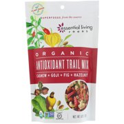 Essential Living Foods  Organic  Antioxidant Trail Mix  Cashew   Goji   Fig   Hazelnut  6 oz  170 g