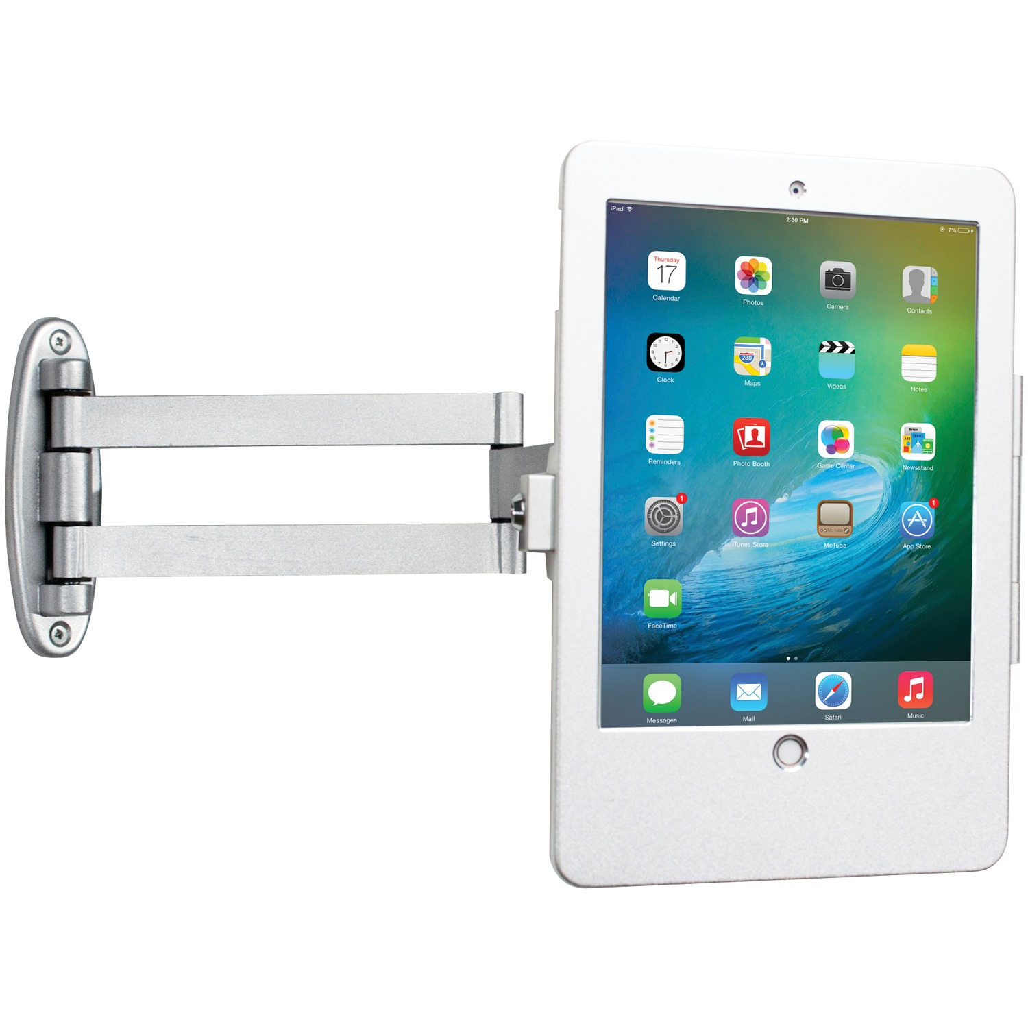 CTA Digital PAD-AWSEA Articulating Wall-Mounting Security Enclosure for iPad