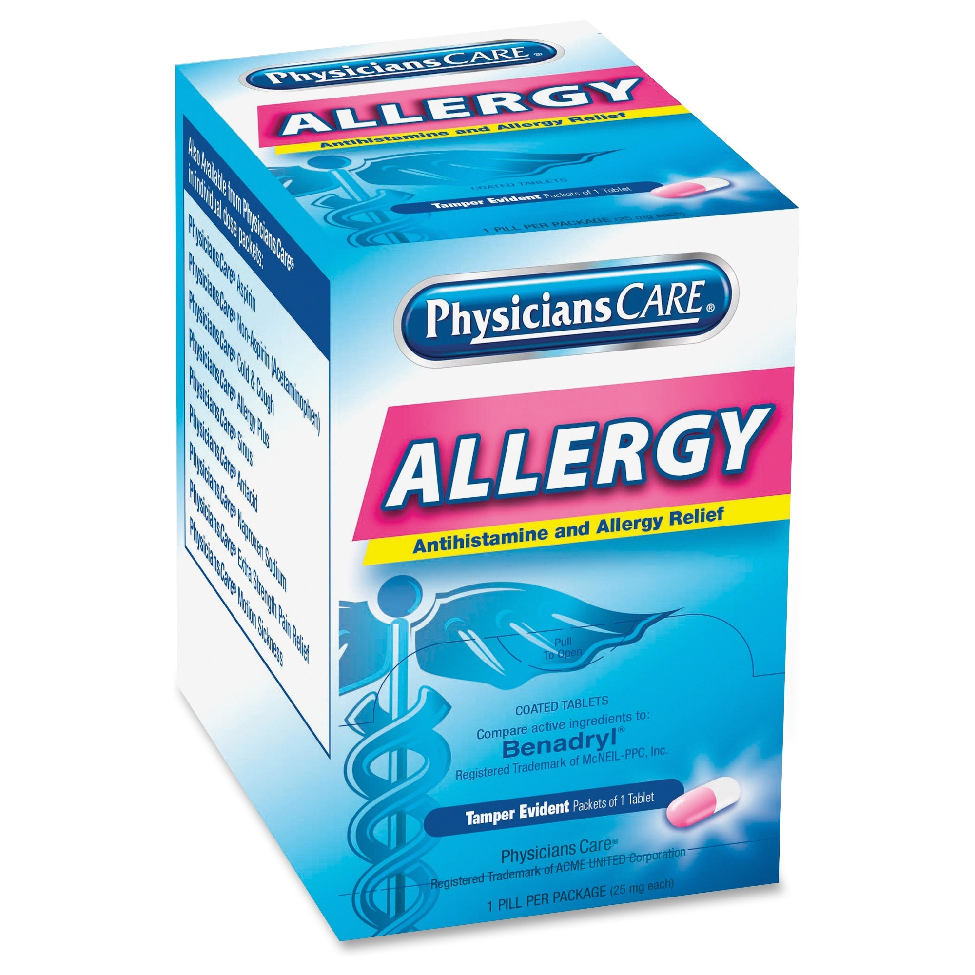 Physicianscare Allergy Relief Tablets - Allergy - 50 / Box (acm-90036)