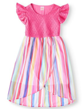 3129c503e Big Girls Dresses   Rompers - Walmart.com