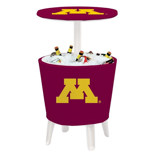 Victory Corps 810024MIN-005 NCAA Event Cooler Table Minnesota - No.005