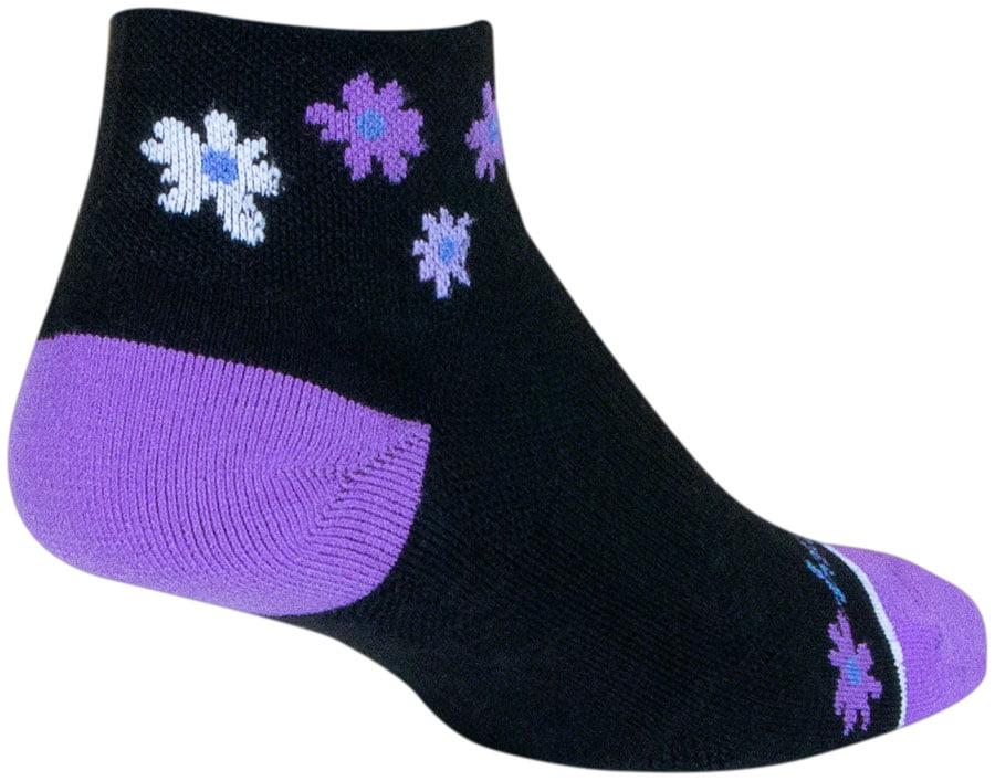 SockGuy Classic Biker Chick Socks Black 3 inch Women/'s Small//Medium