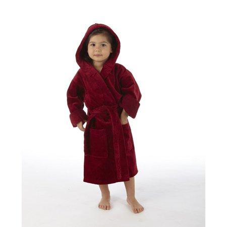 TurkishTowels - Turkishtowels Terry Velour Hooded Kids Bathrobe -  Walmart.com ecd05e14a