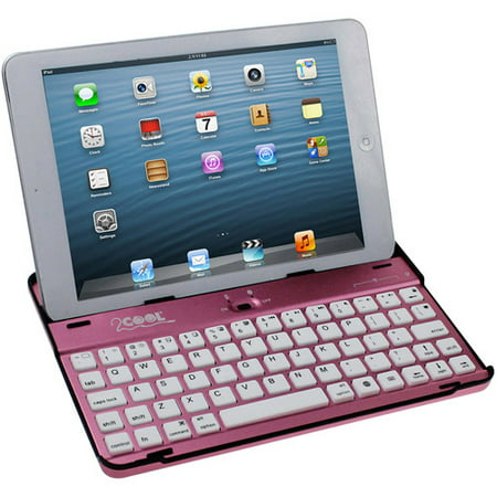 2cool Aluminum Case With Bluetooth Keyboard For Apple Ipad