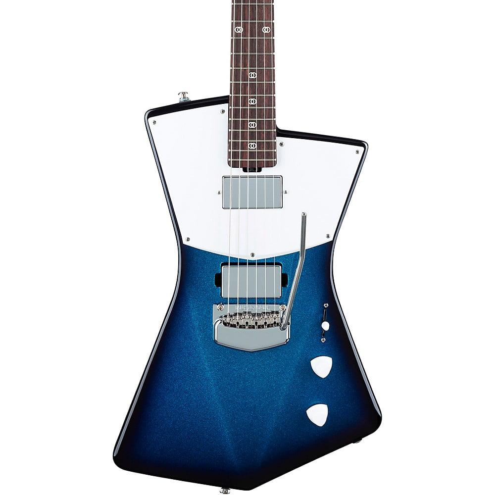 Ernie Ball Music Man St. Vincent HH Rosewood Fingerboard Electric Guitar Blue Dawn