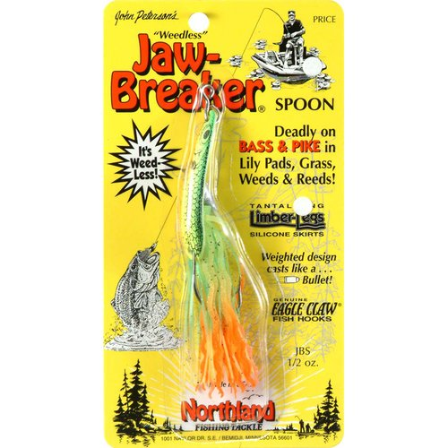 Northland Tackle 1 2 Oz. Jaw-Breaker Spoon Lure, Firetiger Multi-Colored by NORTHLAND FISHING TACKLE CO.