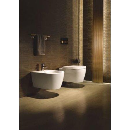 Duravit 2529090092 Starck 1.6 GPF Single Flush Elongated Toilet Bowl Only - Less Seat and Tank ()