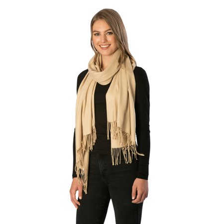 Women's Soft Cashmere Feel Oblong Scarf in Solid Colors](Scarves In Bulk)